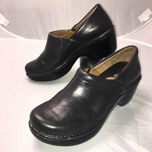 Ariat ATS Horseshoe Platform Clogs Womens Size 9.5